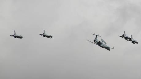 Τουρκικά μαχητικά παραβίασαν τον κυπριακό εναέριο χώρο