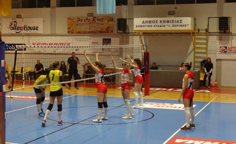 Τεράστια νίκη του ΖΑΟΝ Κηφισιάς 3-2 στο tie-break τον Ηλυσιακό.