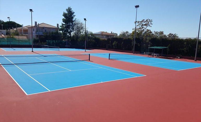 Ανακατασκευή γηπέδων τένις στην Κηφισιά. Δελτίο τύπου.