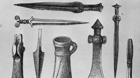 «Εξωγήινης προέλευσης» τα σιδερένια όπλα της Εποχής του Χαλκού