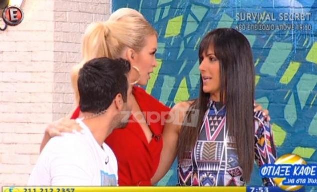 Η Ανθή Βούλγαρη επέστρεψε στην εκπομπή μετά την περιπέτεια με την υγεία της (vid)