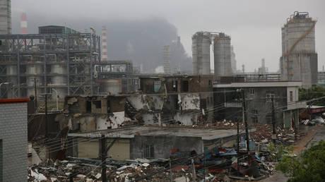 Ιαπωνία: Έκρηξη σε χημικό εργοστάσιο με πολλούς τραυματίες