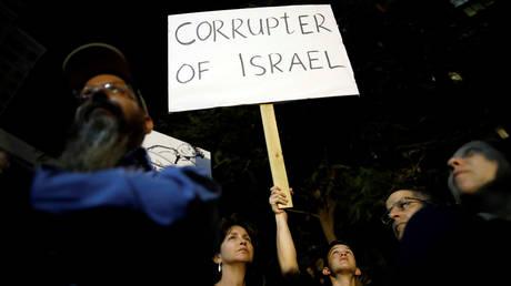 Ισραήλ: Μεγάλη διαδήλωση κατά της διαφθοράς και του πρωθυπουργού (pics)