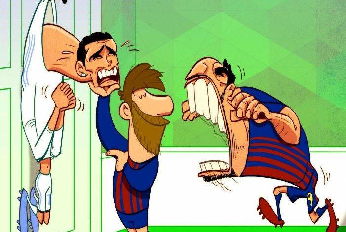 Ο Μέσι προσφέρει τον Ρονάλντο στα… δόντια του Σουάρες! (photo)