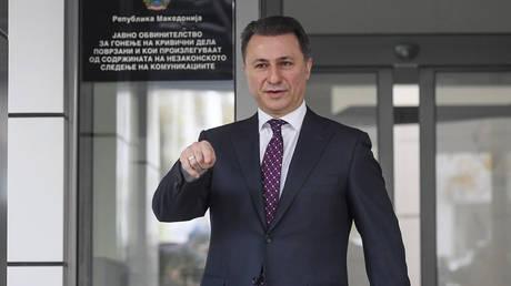 Παραιτείται από την ηγεσία του VMRO-DPMNE ο Γκρουέφσκι