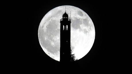 Ποδαρικό με μία σούπερ-Σελήνη
