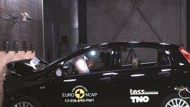 Συγκλονίζει το crash test ενός Fiat Punto του 2005 (vid)