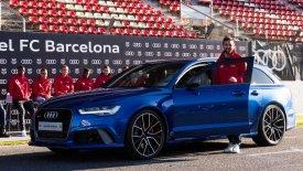 Τα πιο γρήγορα Audi για τους παίκτες της Μπάρτσα (pics & vid)
