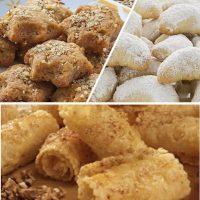 Τι είναι καλύτερο διατροφικά; Kουραμπιέδες, μελομακάρονα ή δίπλες; Πόσες θερμίδες περιέχουν;