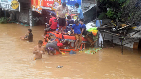 Φιλιππίνες: Δεκάδες νεκροί από το πέρασμα τροπικής καταιγίδας