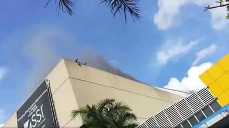 Φιλιππίνες: Μεγάλη πυρκαγιά σε εμπορικό κέντρο – Φόβοι για τουλάχιστον 37 νεκρούς