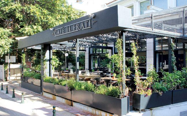 «Λουκέτο» στο Cafe Il Frati στην Κηφισιά για φοροδιαφυγή.