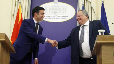 «Δημοκρατία της Νέας Μακεδονίας» λένε ΜΜΕ σε Αλβανία και πΓΔΜ