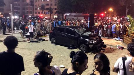 Βραζιλία: Αυτοκίνητο παρέσυρε πεζούς στην Κόπα Καμπάνα – Νεκρό βρέφος και δεκάδες τραυματίες