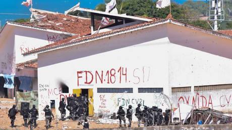 Βραζιλία: Δέκα κρατούμενοι σκοτώθηκαν σε συγκρούσεις μεταξύ αντίπαλων συμμοριών