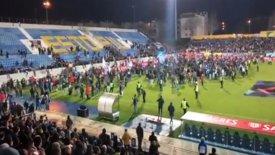 Διακοπή στο Εστορίλ-Πόρτο λόγω ρωγμών στο γήπεδο! (pic & vid)
