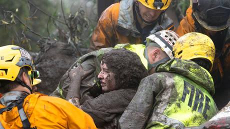 Εικόνες γεμάτες λάσπη: Η απελπιστική κατάσταση της Καλιφόρνια (pics&vid)