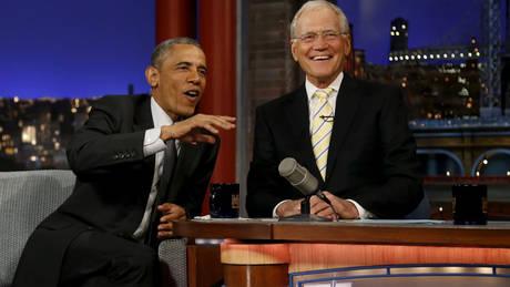 ΗΠΑ: Ο Λέτερμαν επιστρέφει στη μικρή οθόνη με συνέντευξη από τον Μπαράκ Ομπάμα