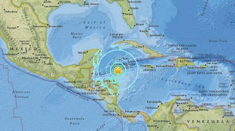Ισχυρός σεισμός 7,6 Ρίχτερ στην Καραϊβική – Συναγερμός για τσουνάμι
