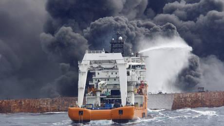 Κίνα: Βυθίστηκε το ιρανικό πετρελαιοφόρο – Καμία ελπίδα για επιζώντες