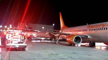 Καναδάς: Πανικός από τη σύγκρουση δύο αεροσκαφών στο αεροδρόμιο του Τορόντο (video)