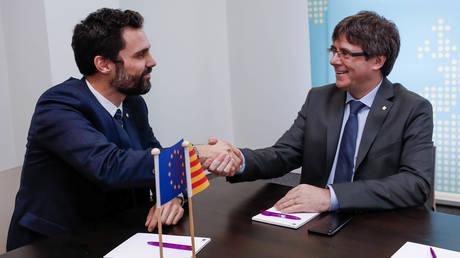 Καταλονία: Ο Πουτζντεμόν δικαιούται να εκλεγεί νέος πρόεδρος