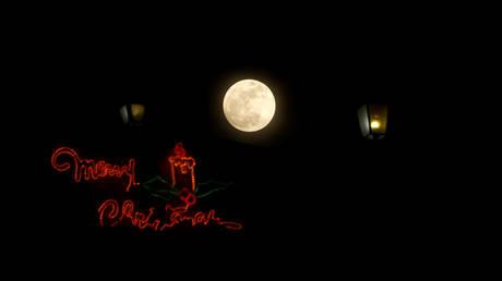 Μαγευτικές εικόνες από την πρώτη υπερ-Σελήνη του έτους (pics)