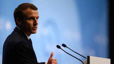 Μακρόν: Να συνεχιστεί ο διάλογος για να αποφευχθεί ο πόλεμος με το Ιράν
