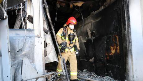 Νότια Κορέα: Τουλάχιστον 41 οι νεκροί από την πυρκαγιά σε νοσοκομείο (pics)