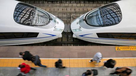 Οι σιδηροδρομικές γραμμές υψηλής ταχύτητας της Κίνας θα φθάσουν τα 38.000 χιλιόμετρα