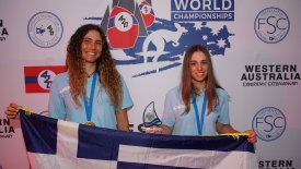 Παγκόσμιες Πρωταθλήτριες U17 οι Σπανάκη Παπαδοπούλου του ΙΟΠ