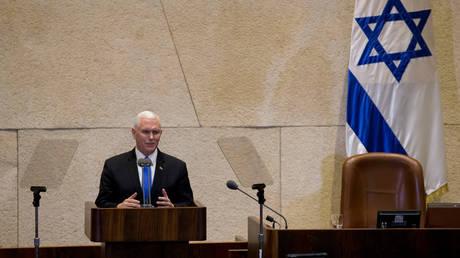 Πενς: Η πρεσβεία των ΗΠΑ στην Ιερουσαλήμ θα ανοίξει πριν το τέλος του 2019 (pics)