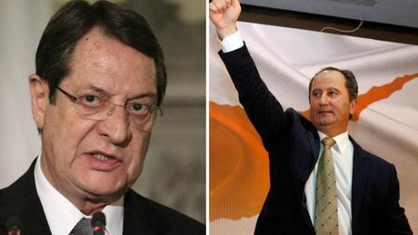 Προεδρικές εκλογές στην Κύπρο: Αναστασιάδης – Μαλλάς στο β' γύρο