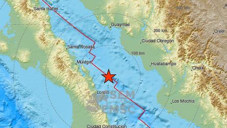 Σεισμός μεγέθους 6,6 Ρίχτερ στο Μεξικό