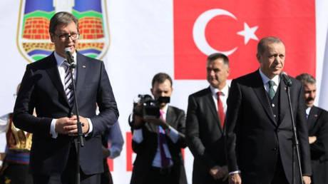 Σερβία: Ικανοποίηση Βούτσιτς από τη συνάντηση με τον Ερντογάν