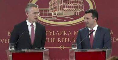 Στόλτενμπεργκ: Δεν υπάρχει plan B για είσοδο στο ΝΑΤΟ, πρέπει να λυθεί το ονοματολογικό