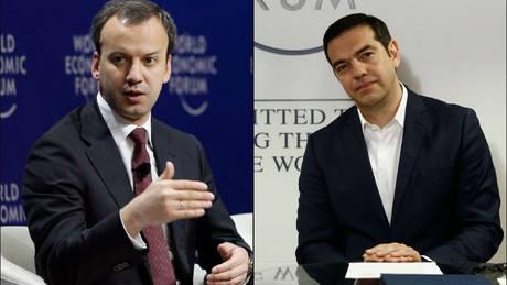 Το δώρο του αναπληρωτή πρωθυπουργού της Ρωσίας στον Τσίπρα