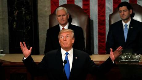 Τραμπ: «Απειλή» για τα συμφέροντά μας Ρωσία και Κίνα (pics)