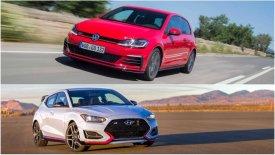 H Hyundai προκαλεί το Volkswagen Golf GTI!