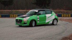 Suzuki Swift RS Boosterjet, έτοιμο για αγώνες! (vid)