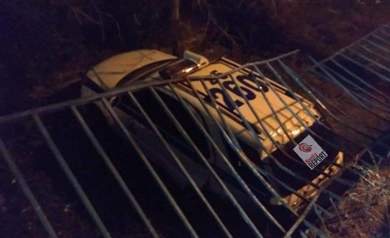 Σοκαριστικές εικόνες από τροχαίο ατύχημα στο Μενίδι – ΙΧ εμβόλισε περιπολικό