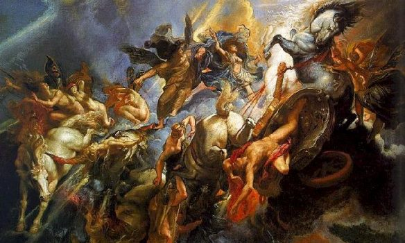 Άδοξο τέλος για τον «έκπτωτο άγγελο» στο Π. Φάληρο – Τον έριξε ο… αέρας!
