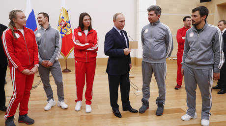 «Συγγνώμη» από τους Ρώσους Ολυμπιονίκες ζήτησε ο Πούτιν