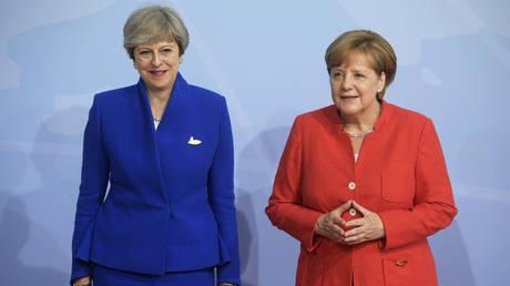 Συνάντηση Μέρκελ – Μέι την Παρασκευή στο Βερολίνο