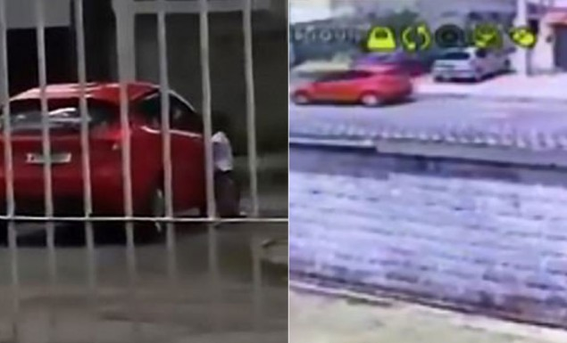 Mητέρα παράτησε έξω από το αμάξι την 5χρονη κόρη της για να την τιμωρήσει (vid)