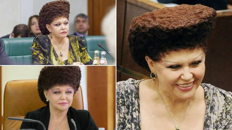 Αυτή η Ρωσίδα πολιτικός έχει το πιο… ιδιαίτερο χτένισμα! (pics)