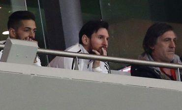 Δεν μπορούσε να βλέπει τον διασυρμό της Αργεντινής ο Μέσι και αποχώρησε! (vid)
