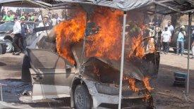 Καταστροφική πυρκαγιά στο Ράλι Μεξικού (pics & vid)