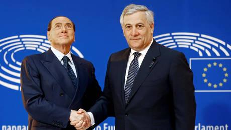 Ο Ταγιάνι «διατεθειμένος» να αναλάβει την πρωθυπουργία στην Ιταλία