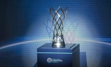 Το τρόπαιο του Basketball Champions League στο ΑΕΚ - Στρασμπούρ